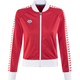 arena Relax IV Team Jacket Damen red-white-red
